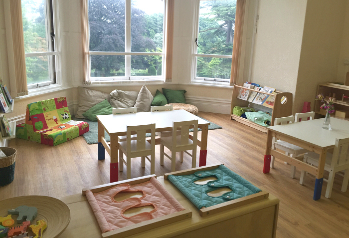 Cardiff Montessori Classroom with Windows