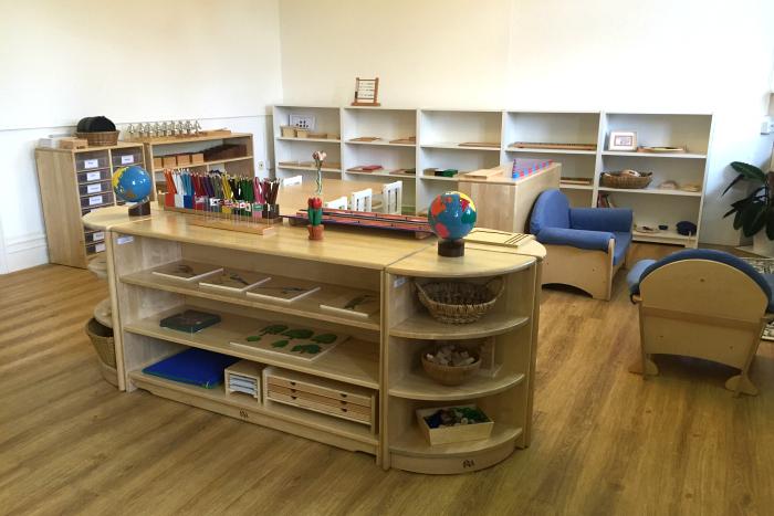 Cardiff Montessori Wales UK, Inside Classroom Environment