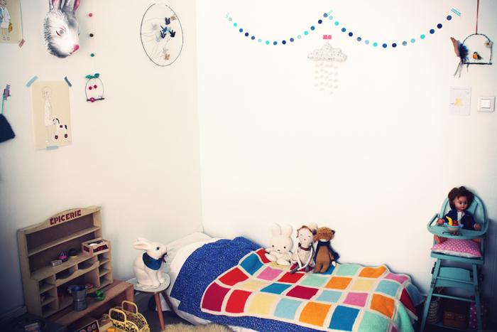 Lovely Montessori et nous le lit de Lou