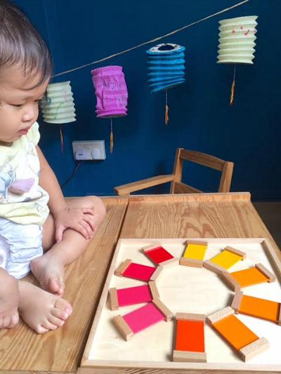 Three Minute Montessori - Colour Tablets