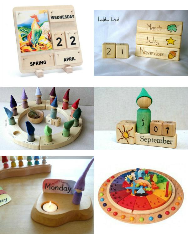 Gorgeous Waldorf Calendars How We Montessori