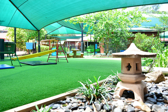 Outdoor Play Area at IMCH