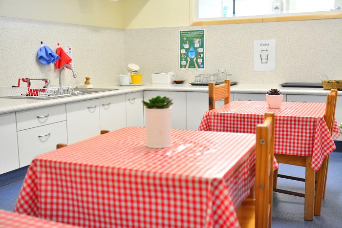 IMCH Kitchen in 3-5 yrs Classroom at How we Montessori, Montessori Kitchen