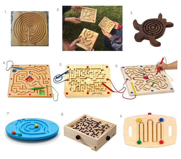 Labyrinth and Maze Toys at How we Montessori