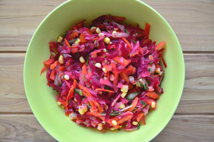 Summer salad at HWM