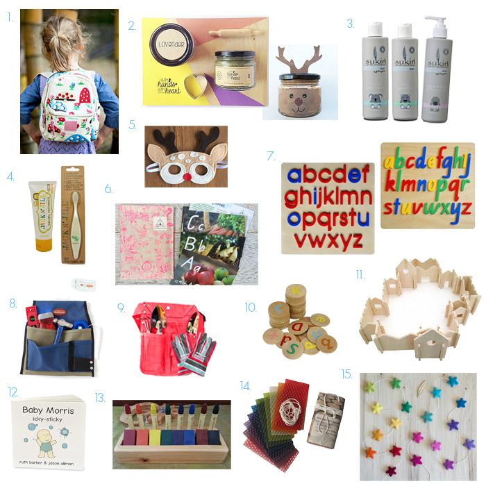 Montessori Family Friendly Gift Ideas Christmas 2016 Australia