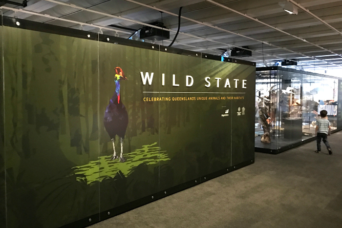 Wild State Exhibit at the Queensland Museum