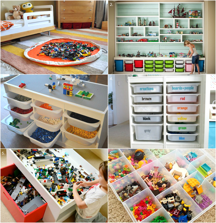 HWM Lego Storage Ideas