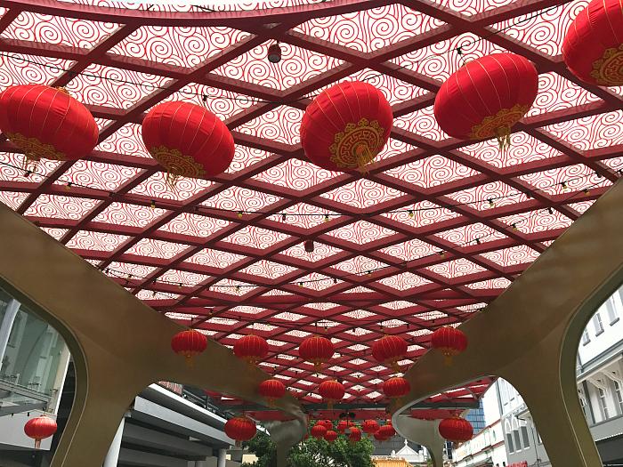 Chinatown Brisbane, Foritude Valley, Lanterns