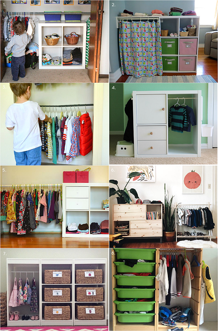 Preparing Your Bedroom For A Baby: Montessori Closet / Wardrobe Ideas And Inspiration