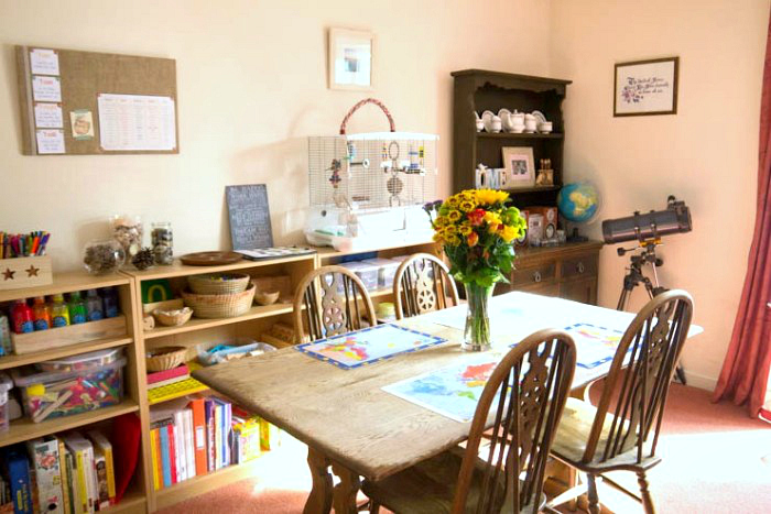 Pyjama School UK Charlotte Mason Learning Space