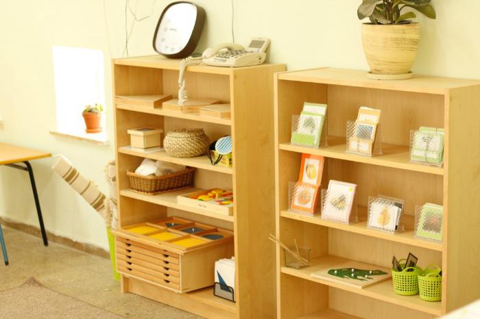 Yahalom Montessori, Israel, Shelves, Dressing Frames