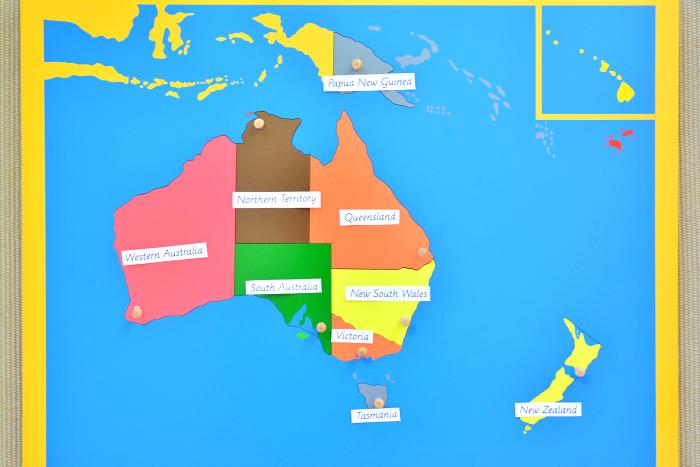 Australiasia Puzzle Map #4