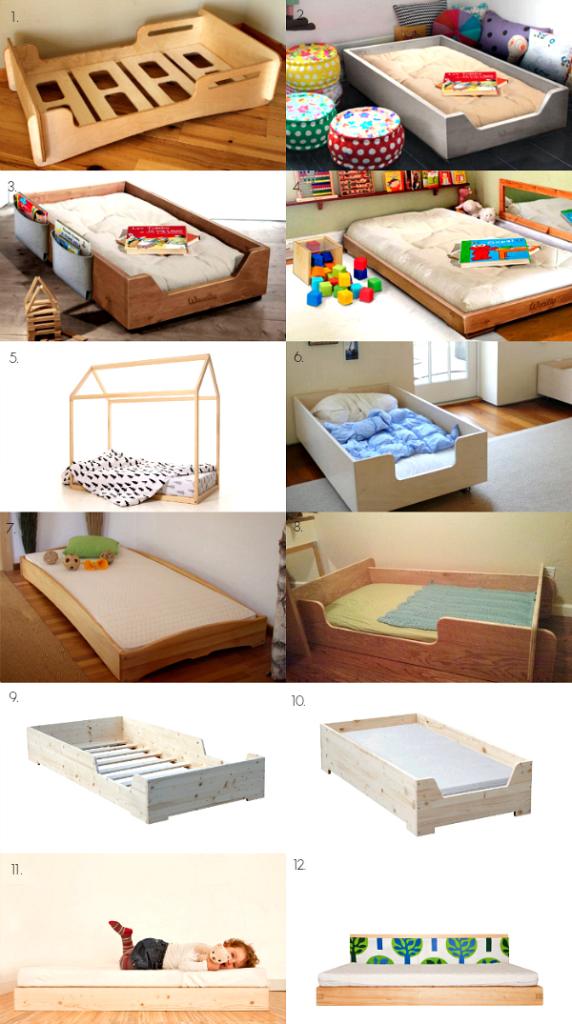 How we Montessori - Floor Bed Examples