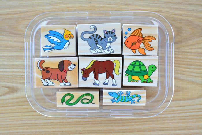 Cute animal stamps at HWM*