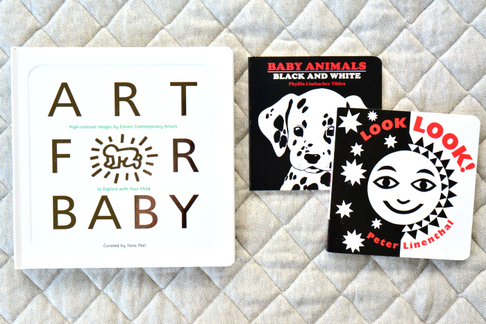 Black and White Books for Babies at How we Montessori
