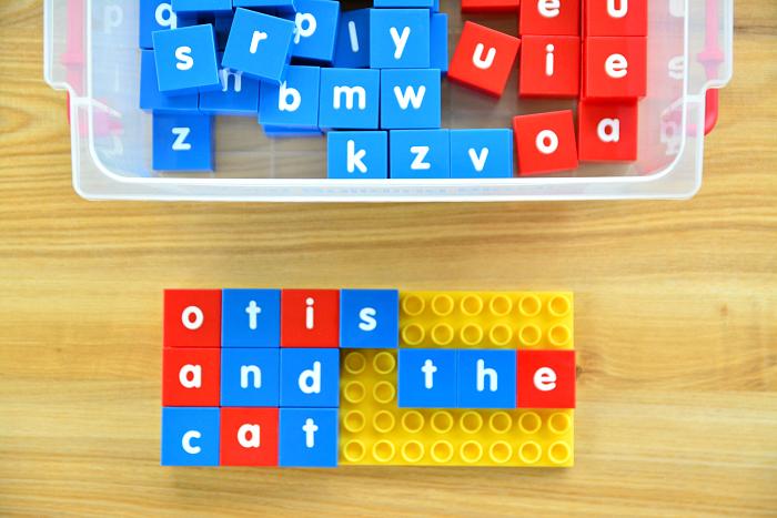 Child.com.au Literacy Blocks at How we Montessori