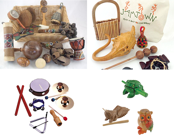 Lovely instruments for young children at How we Montessori