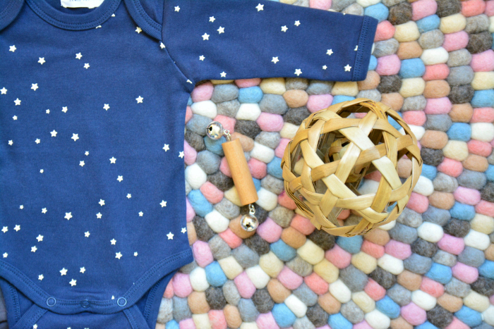 Felt ball rug at How we Montessori