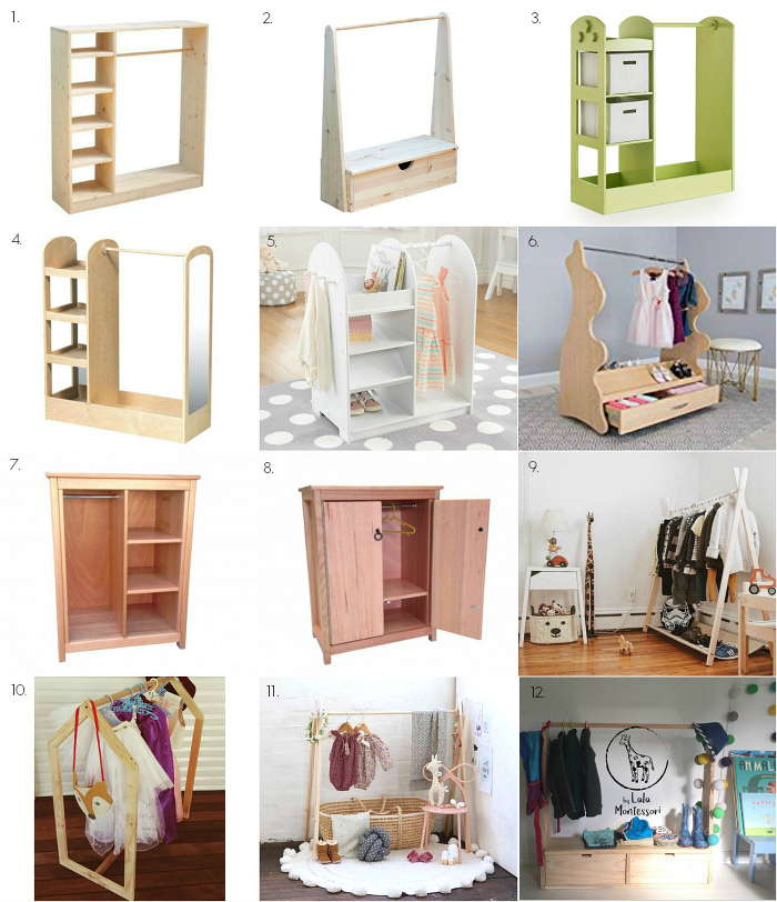 Motnessori Wardrobes to Order at How we Montessori