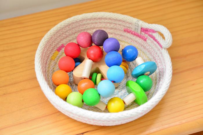 Various Rattles at How we Montessori