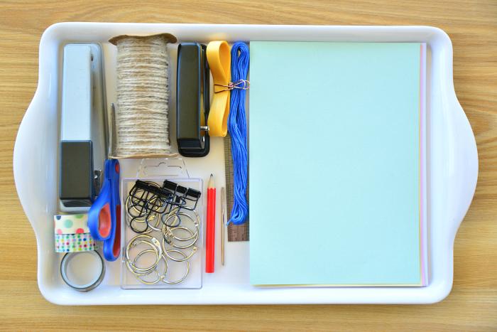 How we Montessori - child made books  handmade writing books  Montessori practical life