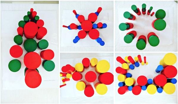 Montessori Nature Knobless Cylinders