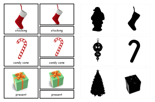 TPT Christmas Three Part Cards