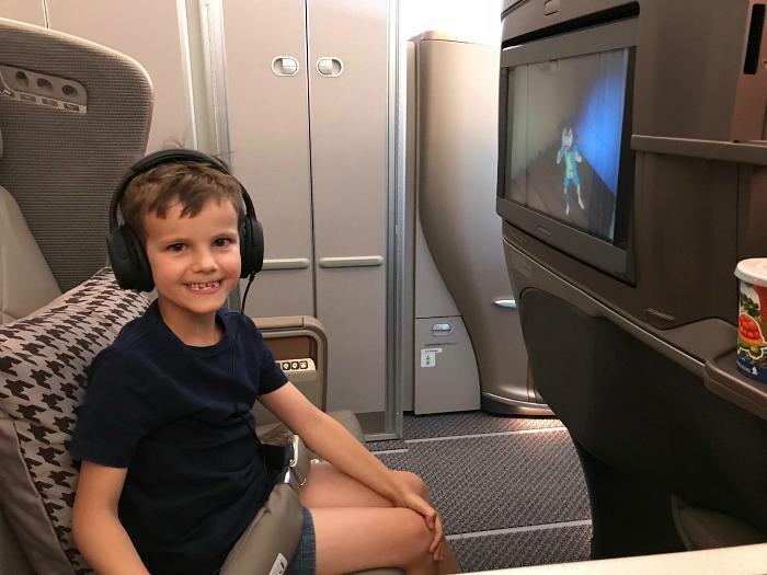 Otis Brisbane to Singapore at How we Montessori  Singapore Air