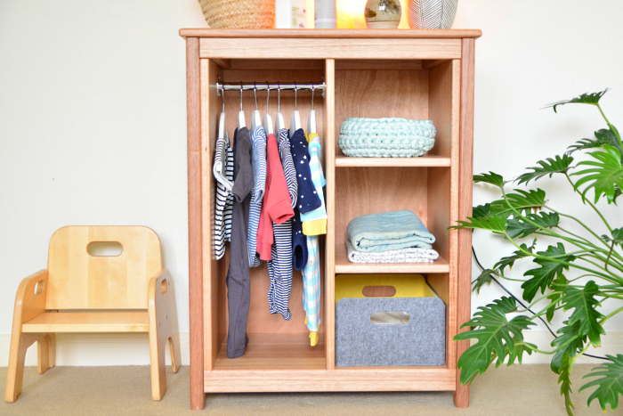 A Montessori Wardrobe For Your Child, Childrens Wardrobe Armoire