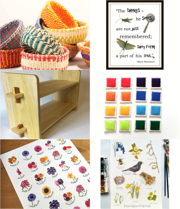 Montessorish Etsy Finds February at How we Montessori