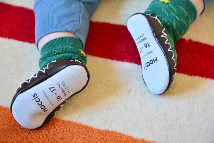 Otto and Otis croc moccis at How we Montessori