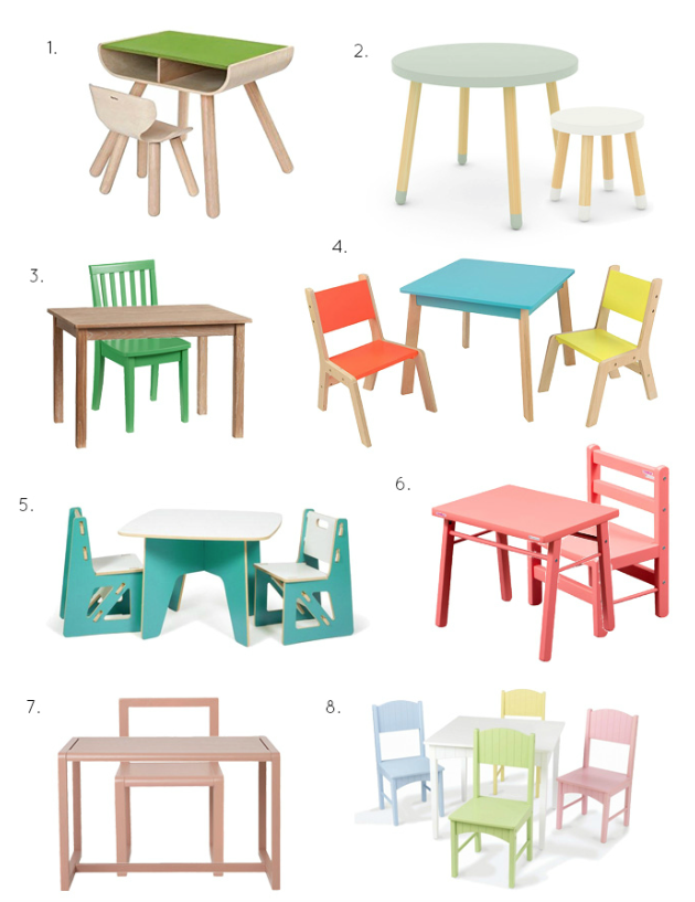 Colourful Children's Furniture at How we Montessori