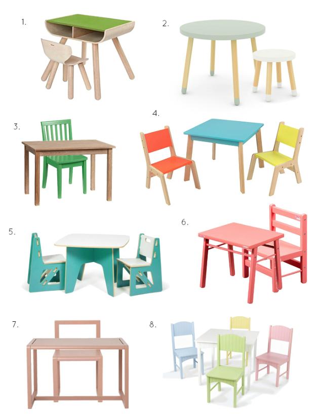 Colourful Children's Furniture at How we Montessori