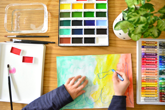 Think good art supplies at How we Montessori  2018