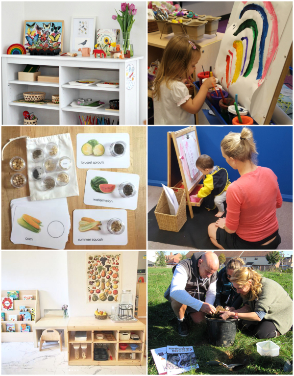 Weekend Montessori Reading at How we Montessori April