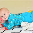 HWM Otto crawling out of Montessori floor bed 7 months