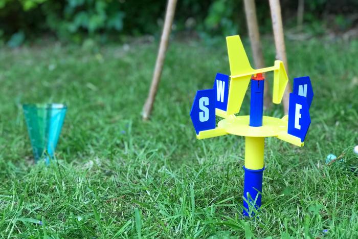 Educational child's weather vane at How we Montessori