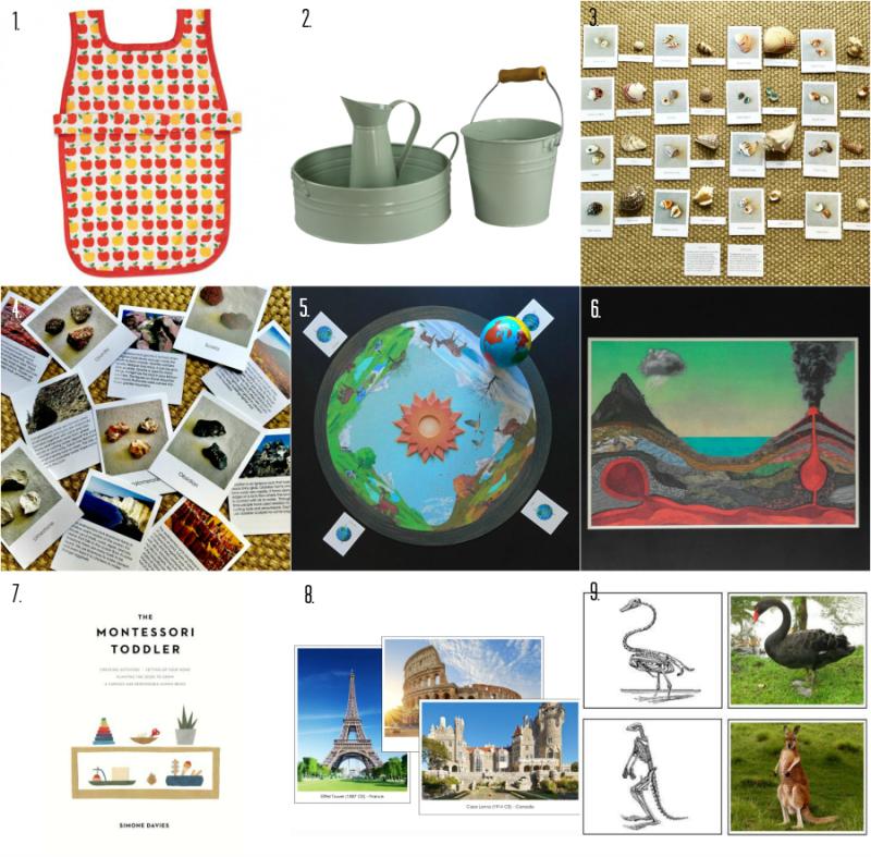 What's new  How we Montessori  montessori materials