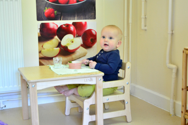 Our Montessori Baby Kitchen Weaning Space How We Montessori