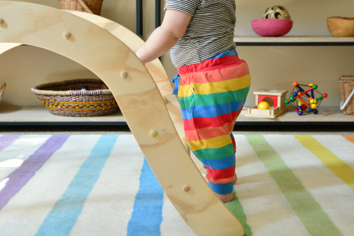 Pikler arch at How we Montessori