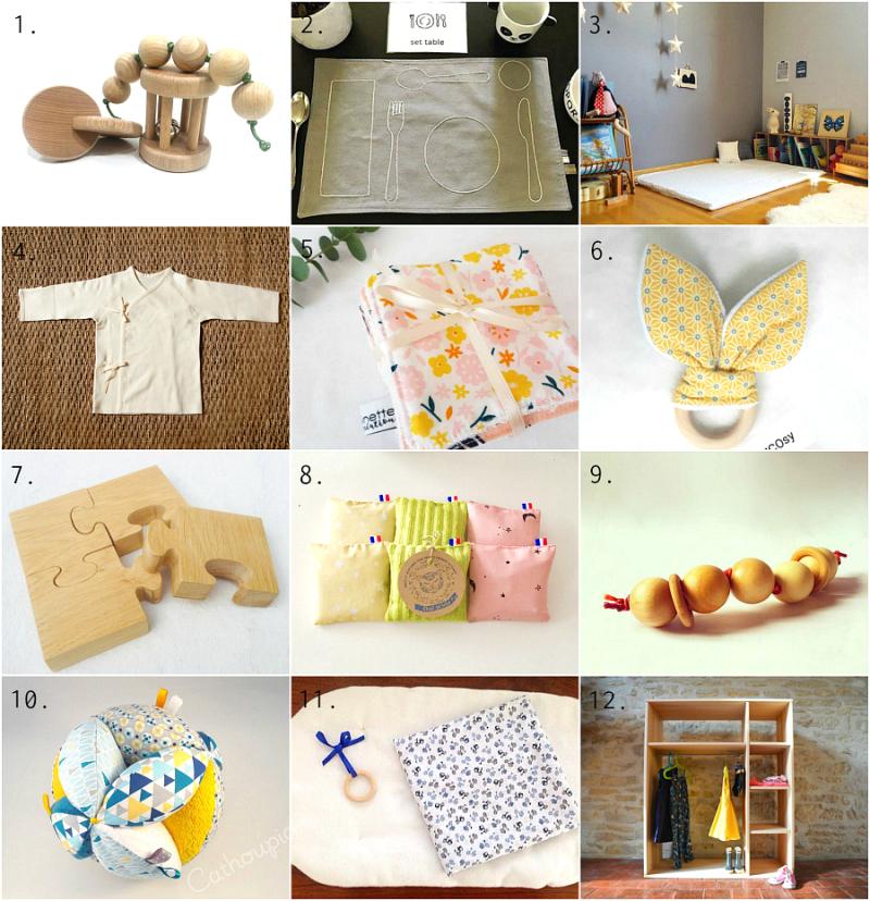 France  Handmade Montessori materials