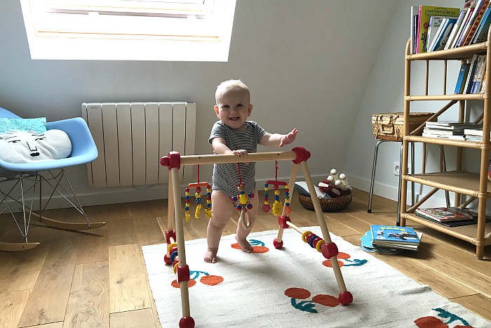 Otto 10 months in Paris  France  July 2018