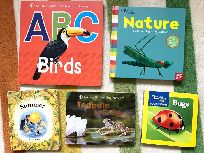 New nature board books at How we Montessori