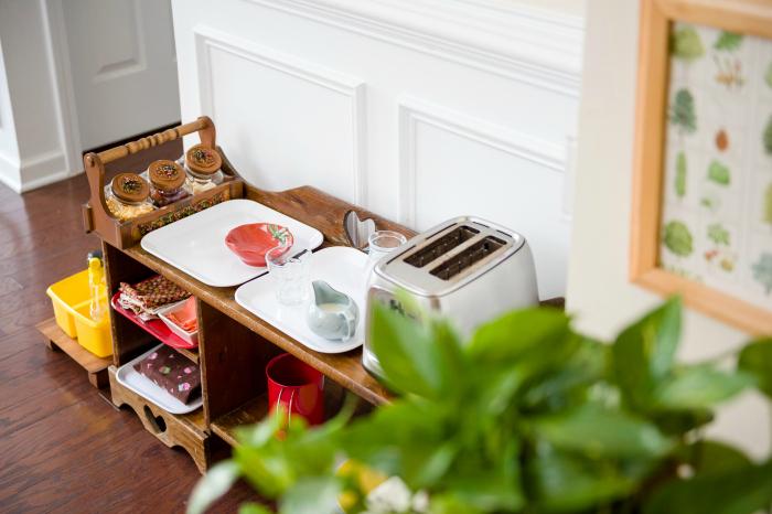 Bella's Casa toaster area