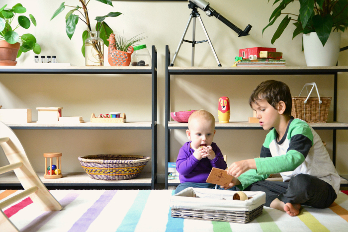 Otis and Otto at home  How we Montessori