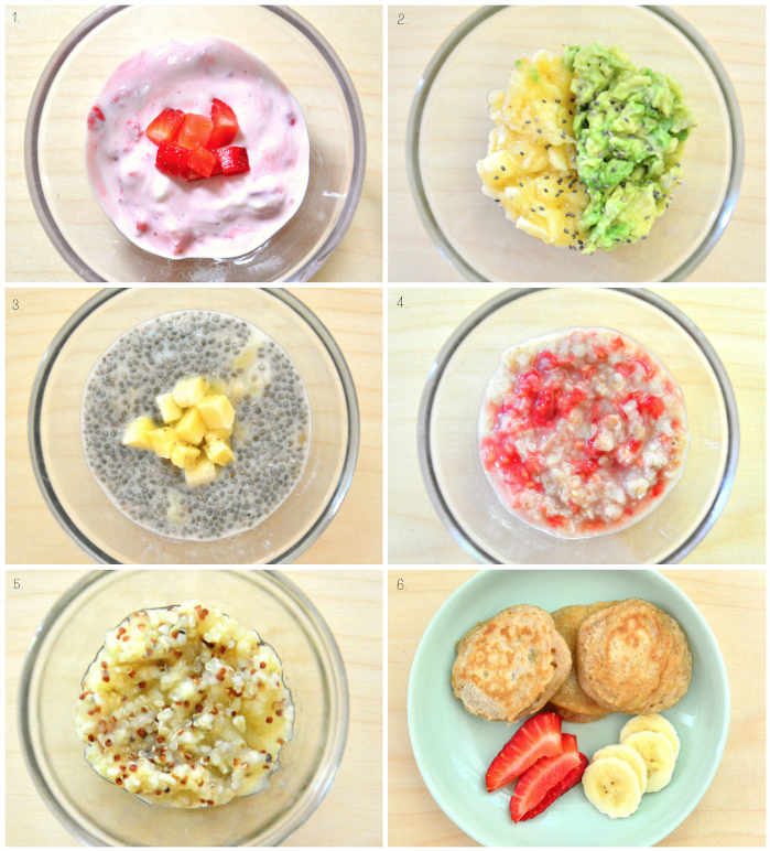 Baby Plant Based Breakfasts at How we Montessori