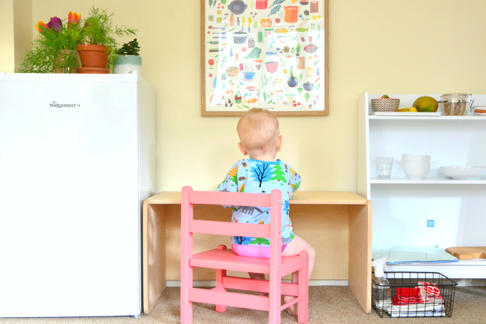 Montessori Toddler Kitchen at How we Montessori