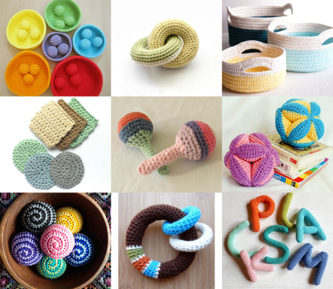 Montessori *things* to Crochet