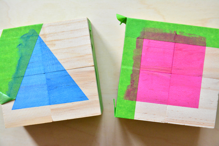 DIY toddler blocks at How we Montessori   cube puzzle